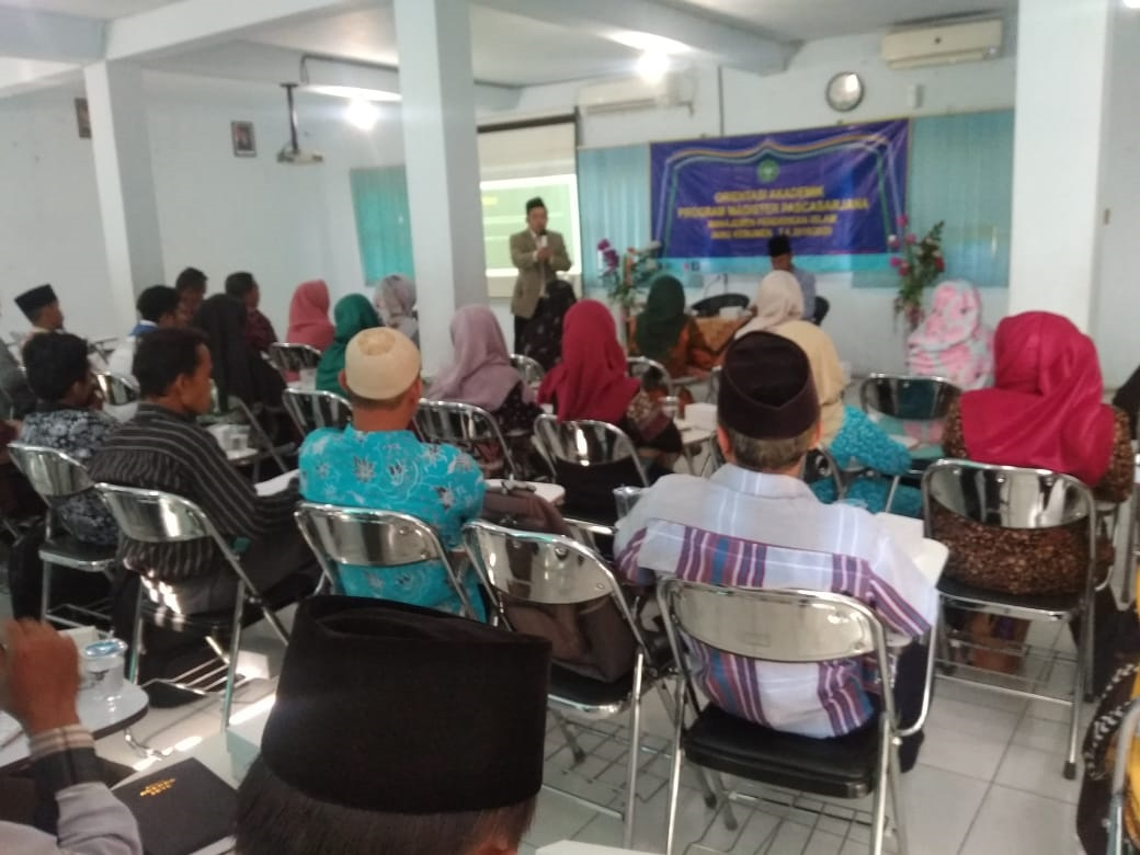 Orientasi Akademik Mahasiswa Pascasarjana T.A 2019/2020