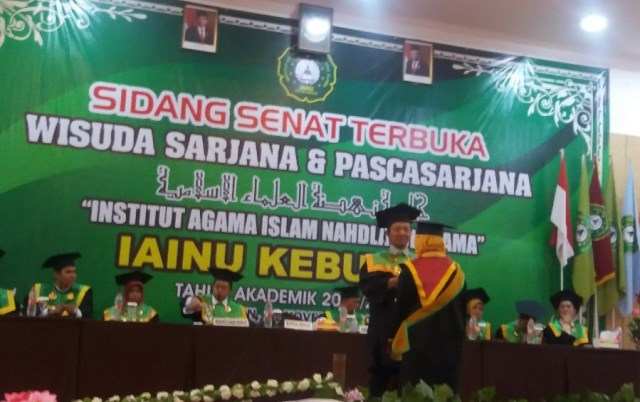 Wisuda IAINU Kebumen T.A 2019/2020